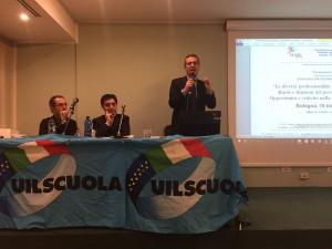 """Bologna 16 novembre – formazione in servizio: D'Aprile (UIL scuola E.R): """"massimo impegno nelle Rsu"""""""