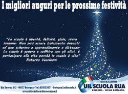 Festività 2020/21: gli AUGURI della FEDERAZIONE UIL Scuola RUA Bologna / Emilia Romagna